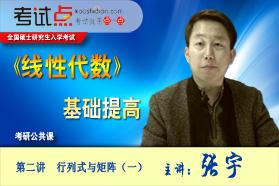 名师张宇考研数学《线性代数》基础提高