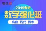 【全名师】2019考研数学全科强化班(数学一&三)