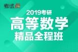 张同斌2019考研《高等数学》单科精品全程班(数一、二、三)