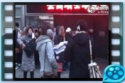 直击2012北京考研现场众考生风雪中备战