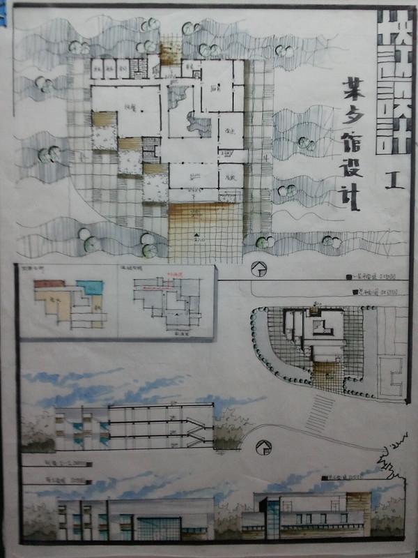 北京建筑大学考研专业课《501建筑设计快题》一对一辅导
